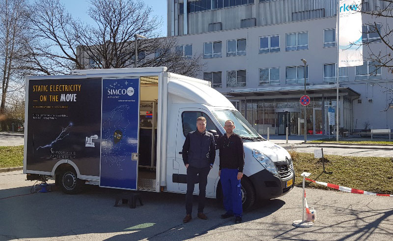 Demo truck at RKW in Wasserburg